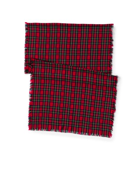 Women's Holiday Plaid Scarf