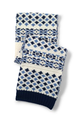Women's Fair Isle Scarf