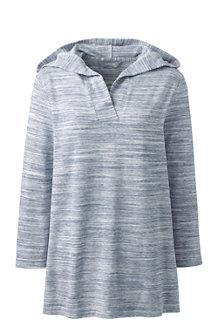 Women's Soft Lesiure Dolman Sleeve V-neck Hoodie
