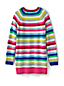 Little Girls' Striped Tunic-length Jumper