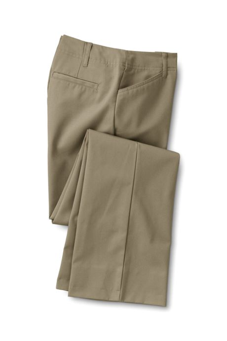 Women's Pre-hemmed Plain Classic Straight Boot Pants