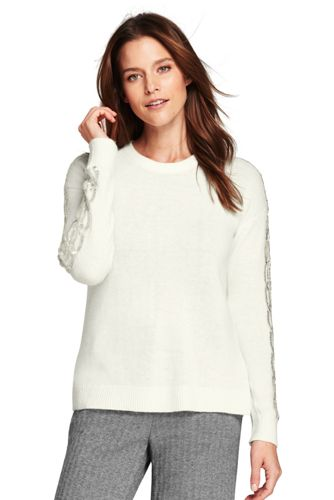 Women's Merino Blend Beaded Jumper