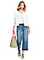 Women's Wide Leg Frayed Hem Jeans