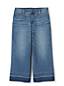Women's Wide Leg Frayed Hem Jeans