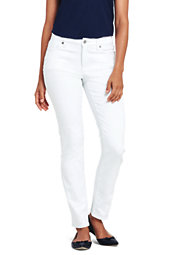 Women's Not Too Low Rise Stain Repellent Slim Leg Jeans