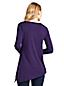 Le Haut Asymétrique en Coton/Modal Stretch, Femme Stature Standard