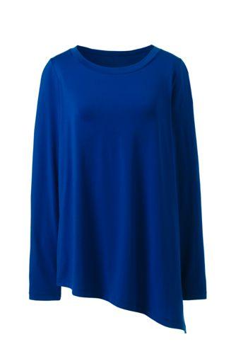 Women's Cotton/Modal Asymmetrical Top