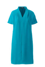 Women's Cap Sleeve Woven Dolman Dress