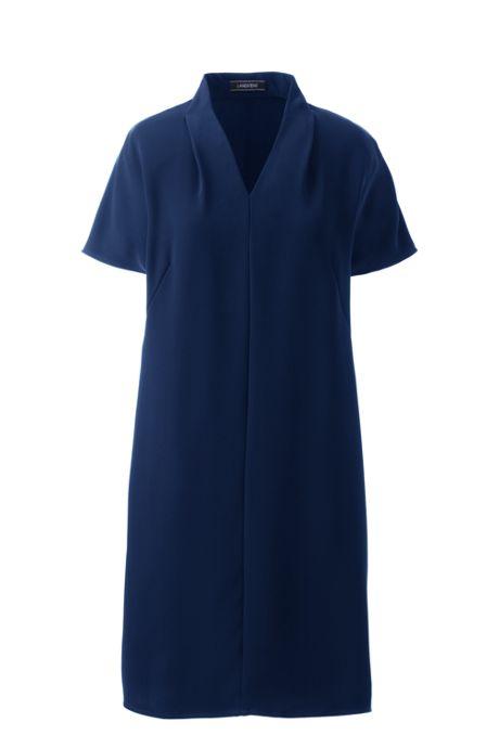 Women's Cap Sleeve Woven Dolman Dress