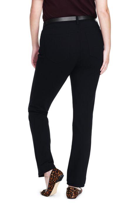 Women's Plus Size Ponte 5 Pocket Pants