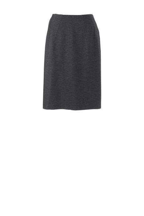 Women's Plus Twill Ponte Skirt