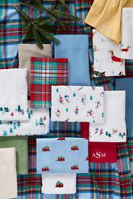 5oz Flannel Embroidered Sheet Set
