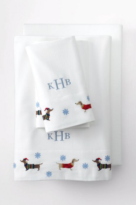 5oz Flannel Embroidered Pillowcases