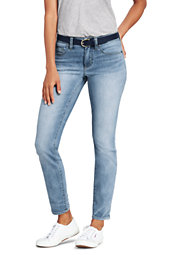 Women's Not Too Low Rise Slim Leg Jeans
