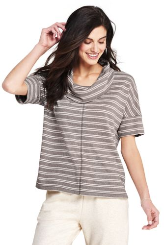 Women's Dolman Sleeve Cowl Neck Top