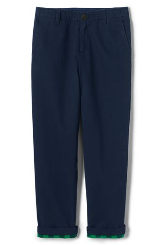 Little Boys' Iron Knees Flannel-lined Cadet Trousers