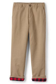 Iron Knees® Kadettenhose mit Flanellfutter für große Jungen