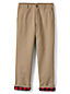 Little Boys' Iron Knees Flannel-lined Chino Trousers