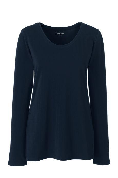 Women's Long Sleeve Jersey Sleep Tee