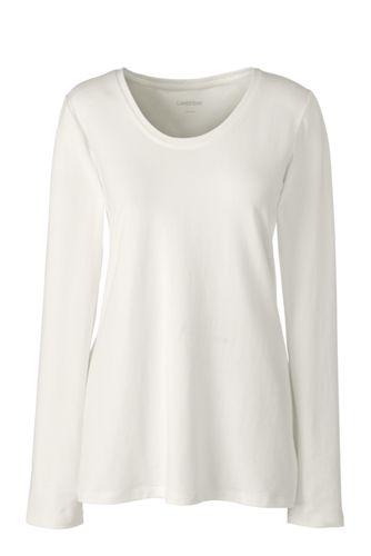Women's Long Sleeve Jersey Pyjama Top