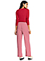 Jersey Pyjama-Set mit gestreifter Hose für Damen in Normalgröße
