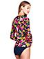 Le T-Shirt de Bain Jungle Florale, Femme Stature Standard