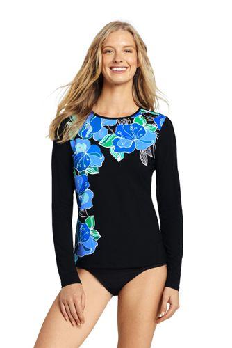 Women's Deco Floral Rash Vest
