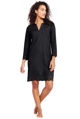 Women's Scallop Hem Cover-up Dress