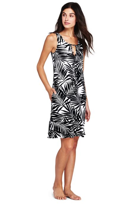 Women's Flounce Swim Cover-up Dress