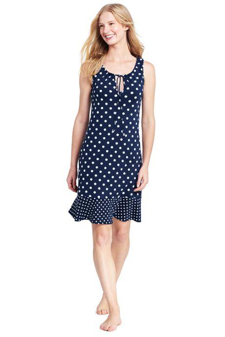 Women's Flounce Swim Cover-up Dress