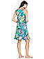 La Robe de Plage Ourlet Volanté Paradis Floral, Femme Stature Standard
