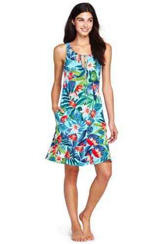 78dd3609d6862 Women s Flounce Swim Cover-up Dress Paradise Floral