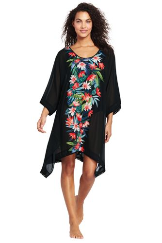 Women's Floral Kaftan Cover-up