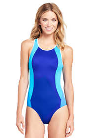 Women's Petite Scoopneck One Piece Swimsuit