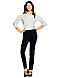 Women's Velvet Slim Leg Trousers
