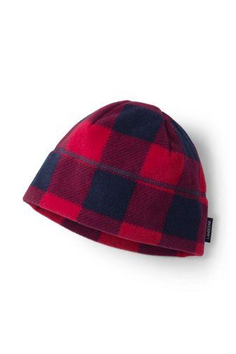 Boys' Printed Fleece Beanie Hat