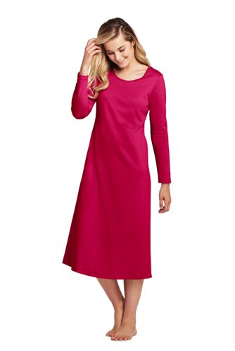 Women's Supima Calf-length Nightdress