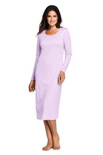 Women's Supima Calf-length Nightdress
