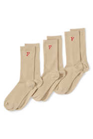 Women's Seamless Toe Solid Crew Socks (3-pack)