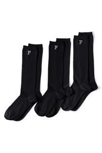Women's Seamless Toe Solid Trouser Sock 3 Pack