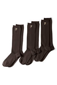 Women's 3-Pack Seamless Toe Solid Trouser Socks