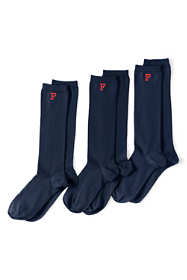 Women's Seamless Toe Solid Trouser Socks (3-pack)