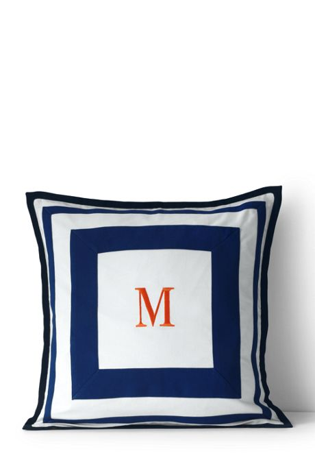 Cotton Double Frame Decorative Pillow