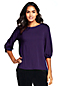 Women's Twist Sleeve Jersey Top