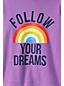 Super-T Grafik-Shirt mit Kapuze für große Mädchen