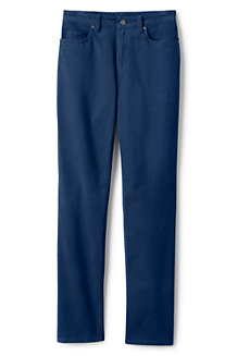Women's High Rise Straight Leg Corduroy Jeans