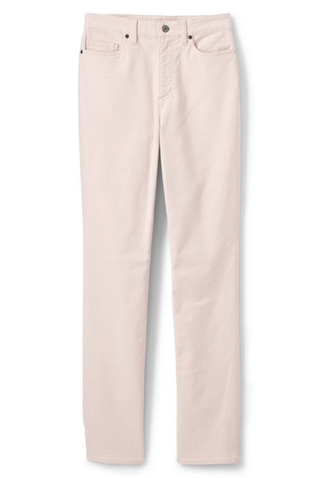 Women's Plus Size High Rise Straight Leg Corduroy Pants