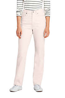 Women's Tall High Rise Straight Leg Corduroy Pants, Front