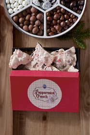 Peppermint Crunch Cookie Bark