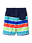 Toddler Boys' Tie-dye Stripe Swim Shorts